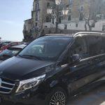 ナポリやアマルフィ海岸の専用車による送迎サービス