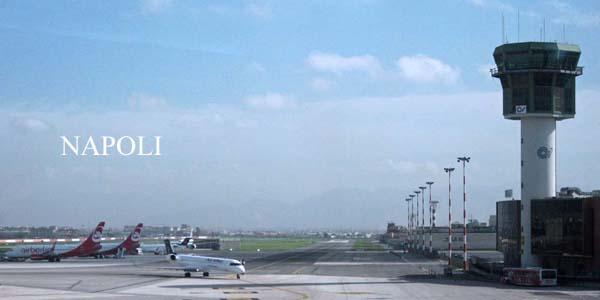 ナポリ空港とナポリ市内ホテルの送迎