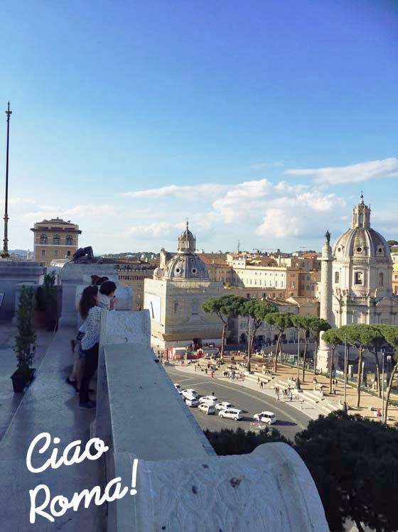 ローマの市内観光ツアー