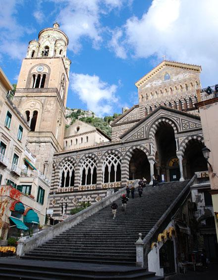 南イタリア バーリからソレントまたはアマルフィとローマの旅